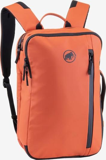 MAMMUT Sportrucksack 'Seon Transporter 15' in orange / schwarz, Produktansicht
