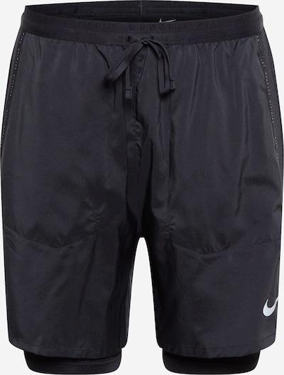 NIKE Sportovní kalhoty 'Flex Stride Run Division' - černá / bílá, Produkt