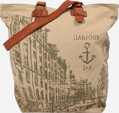 Harbour 2nd Shopper torba 'Annen' u smeđa / maslinasta, Pregled proizvoda
