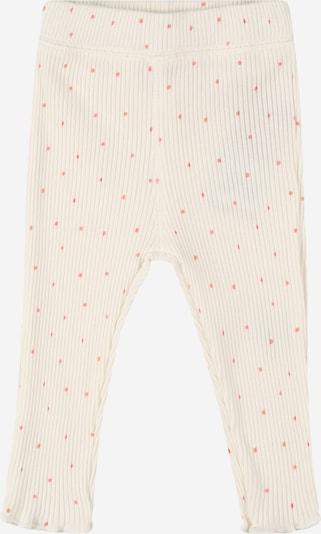 Pantaloni BESS pe roșu deschis / alb murdar, Vizualizare produs