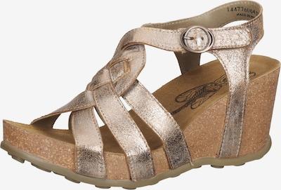 FLY LONDON Sandale in gold, Produktansicht