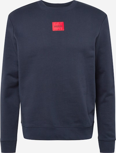HUGO Majica 'Diragol' | nočno modra / rdeča barva, Prikaz izdelka