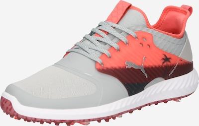 PUMA Športová obuv 'Caged Palms' - sivá / hrdzavo červená / čierna, Produkt
