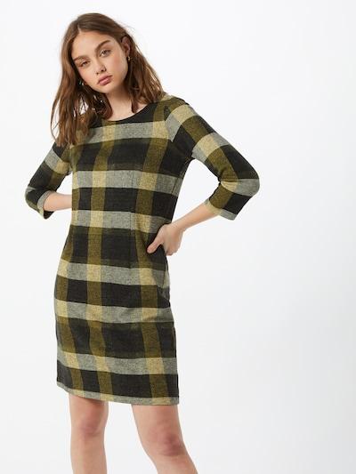 TOM TAILOR Kleid in gelb / grün / weiß, Modelansicht