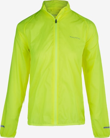 ENDURANCE Athletic Jacket 'IMMIE W' in Yellow
