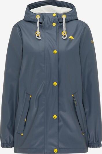 Schmuddelwedda Functionele jas in de kleur Blauw / Geel, Productweergave
