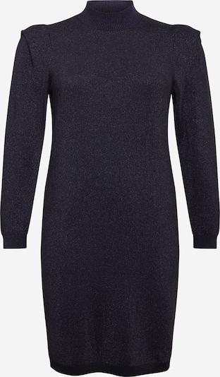 Vero Moda Curve Robes en maille 'Alyssa' en noir / argent, Vue avec produit