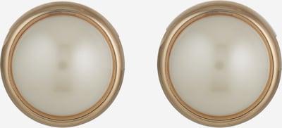Lauren Ralph Lauren Boucles d'oreilles en or / blanc perle, Vue avec produit