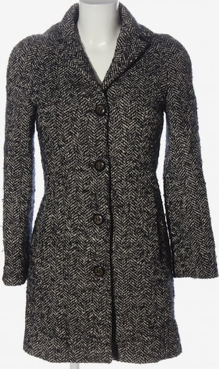 Sisley Übergangsmantel in M in schwarz / wollweiß, Produktansicht