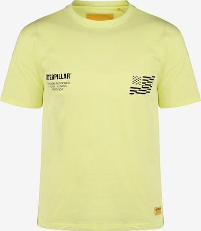 CATERPILLAR T-Shirt in gelb / schwarz, Produktansicht