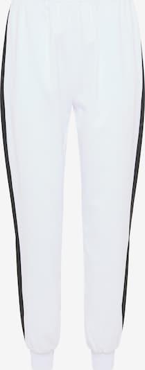 RISA Pantalon en noir / blanc, Vue avec produit
