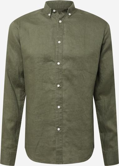 Bruun & Stengade Hemd 'Kochi' in khaki, Produktansicht