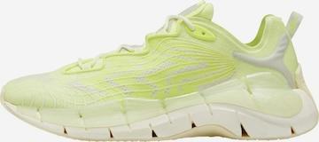 Reebok Sport Athletic Shoes 'Zig Kinetica II' in Yellow