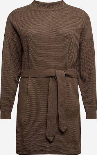 GLAMOROUS CURVE Robes en maille 'LC1029X' en kaki, Vue avec produit
