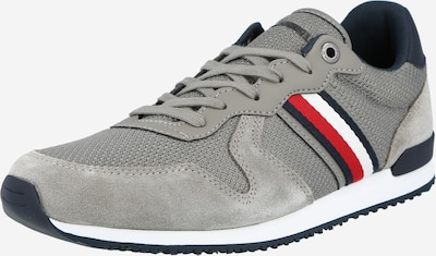 TOMMY HILFIGER Sneakers low in navy / grey / red / white, Item view