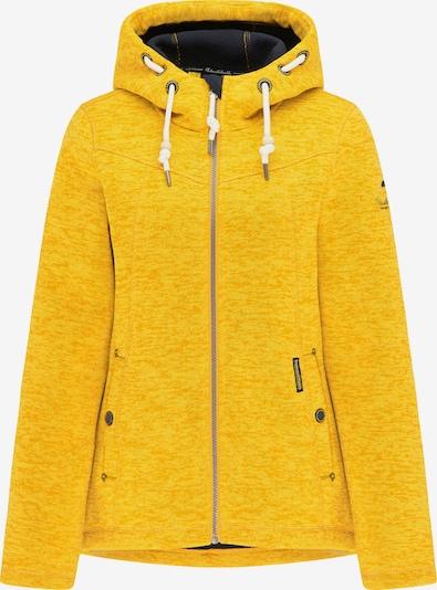 Schmuddelwedda Outdoorjas in de kleur Geel / Wit, Productweergave