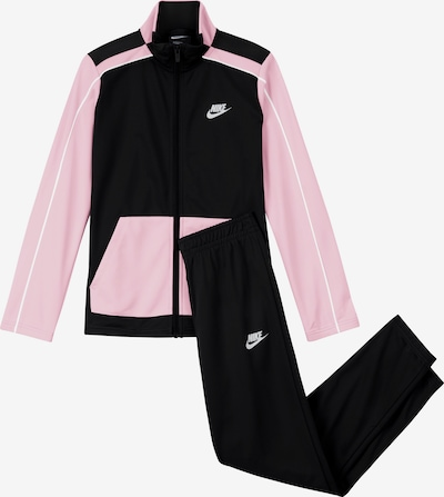 Nike Sportswear Trainingsanzug in dunkelblau / rosa, Produktansicht