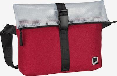 JOST Umhängetasche ' Umea 5038 Shoulder Bag ' in dunkelrot / silber, Produktansicht