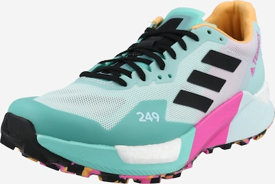 ADIDAS PERFORMANCE Running Shoes 'TERREX AGRAVIC ULTRA' in Mint / Jade / Apricot / Pink / Black, Item view