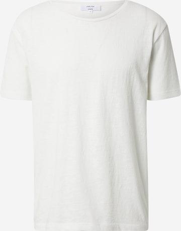 DAN FOX APPAREL Skjorte 'Sven' i hvit