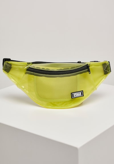Urban Classics Heuptas ' Transparent Shoulder Bag ' in de kleur Geel / Transparant, Productweergave