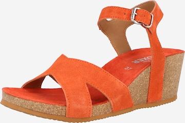 BULLBOXER Sandale in Orange