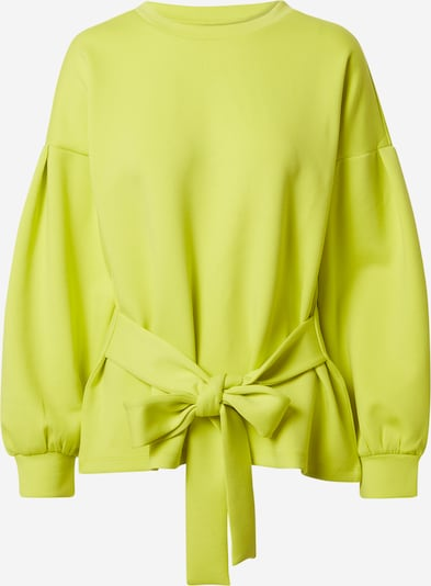 JACQUELINE de YONG Sweat-shirt 'BELLA' en jaune fluo, Vue avec produit