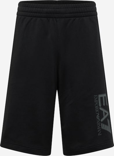 EA7 Emporio Armani Pantalón en gris oscuro / negro, Vista del producto
