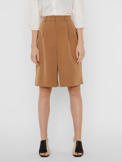 Vero Moda Aware Shorts 'Orlanda' in braun, Modelansicht
