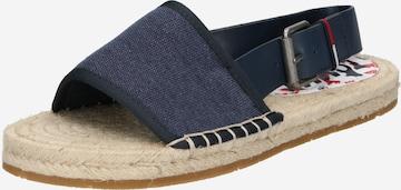 Tommy Jeans Sandale in Blau