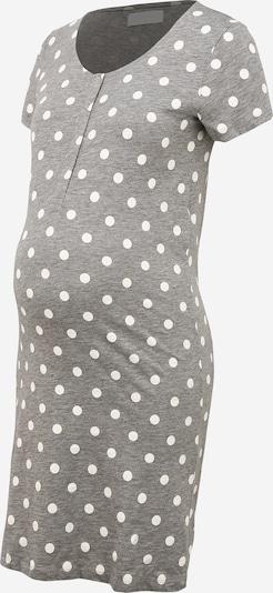 MAMALICIOUS Camiseta de noche 'CHILL LIA' en gris moteado / blanco, Vista del producto