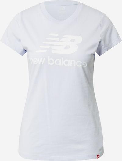 new balance T-Shirt in pastellblau / weiß, Produktansicht