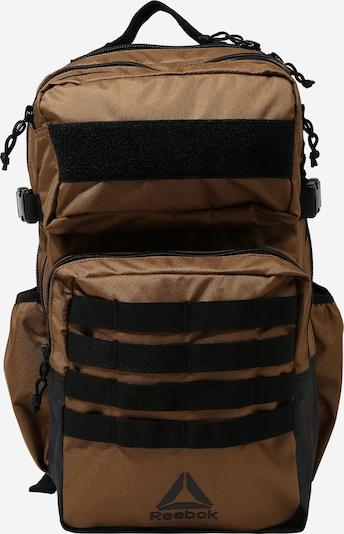 REEBOK Sportski ruksak 'TRAINING DAY' u smeđa / crna, Pregled proizvoda
