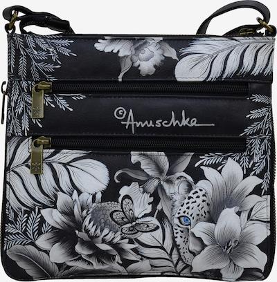 ANUSCHKA Umhängetasche 'Cleopatra's' in mischfarben / schwarz / weiß, Produktansicht