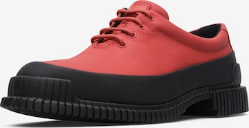 CAMPER Lace-Up Shoes in Red