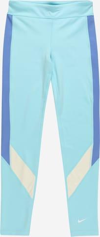 NIKE Spordipüksid, värv sinine