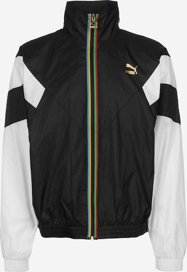 PUMA Trainingsjacke 'TFS Worldhood' in schwarz / weiß, Produktansicht