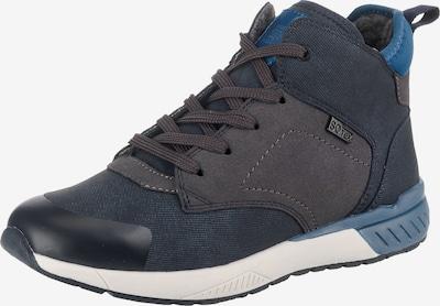 s.Oliver Junior Sneaker in blau / nachtblau / taupe, Produktansicht
