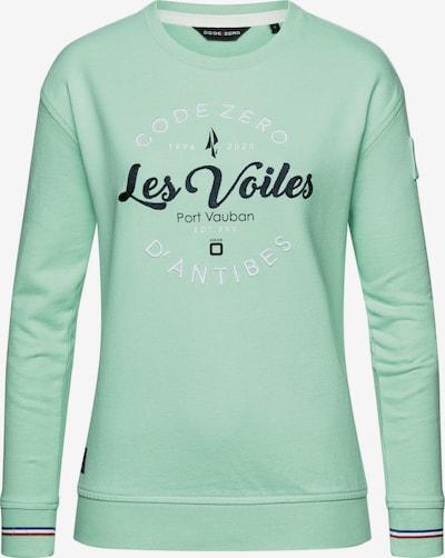 CODE-ZERO Sweater 'Les Voiles Oversized Damen' in türkis / grün / hellgrün, Produktansicht