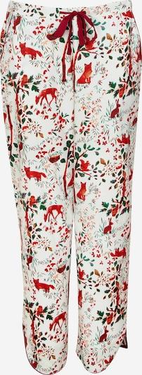 Cyberjammies Pyjamahose 'Robyn' in grün / rot / weiß, Produktansicht