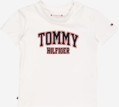TOMMY HILFIGER T-Shirt en melon / noir / blanc, Vue avec produit
