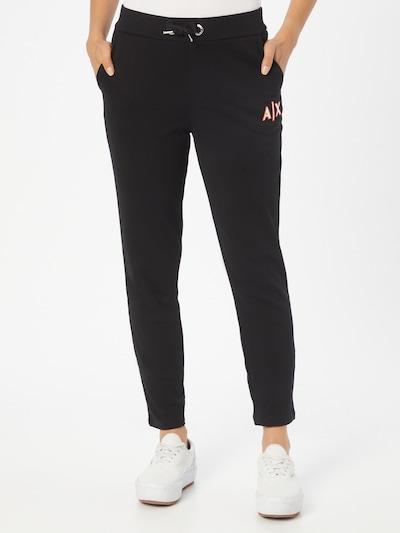 ARMANI EXCHANGE Hose in rot / schwarz / weiß, Modelansicht