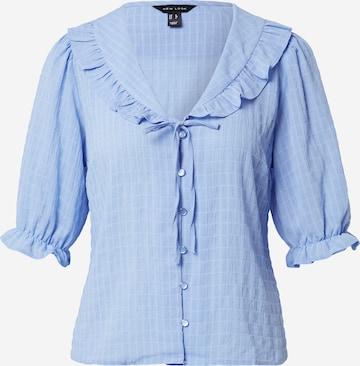 NEW LOOK Bluse 'ALISON' in Blau