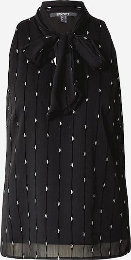 Esprit Collection Blūze melns / Sudrabs, Preces skats