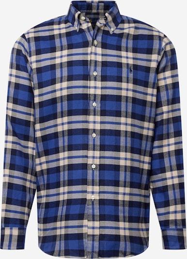 Polo Ralph Lauren Hemd in beige / blau / dunkelblau, Produktansicht