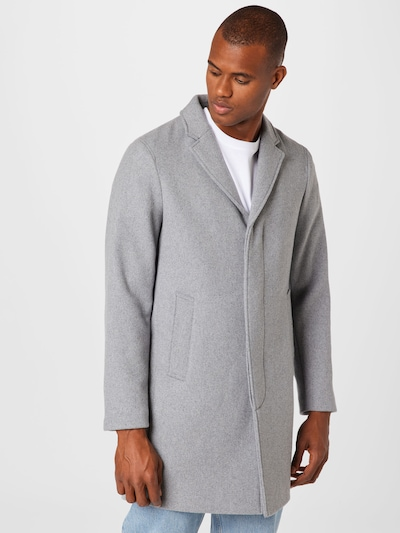 SELECTED HOMME Mantel 'HAGEN' in graumeliert, Modelansicht