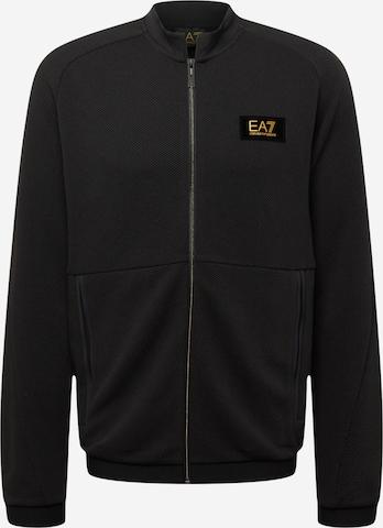 Veste de survêtement EA7 Emporio Armani en noir