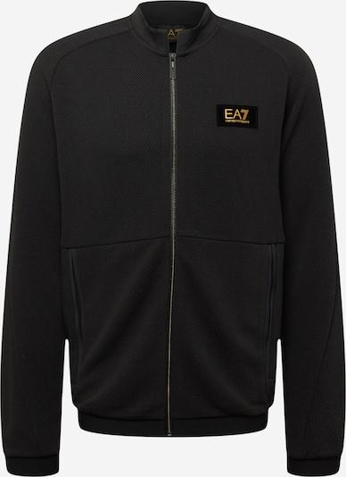 EA7 Emporio Armani Sweatjacke in schwarz, Produktansicht