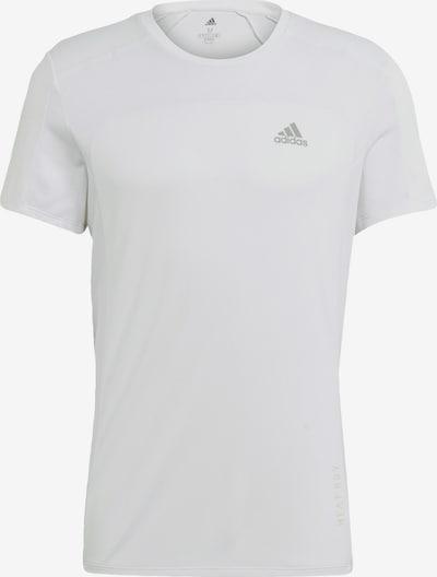 ADIDAS PERFORMANCE T-Shirt in white denim, Produktansicht