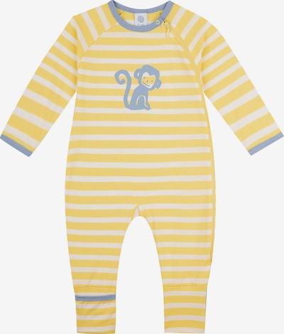 SANETTA Pajamas in Dusty blue / Yellow / White, Item view